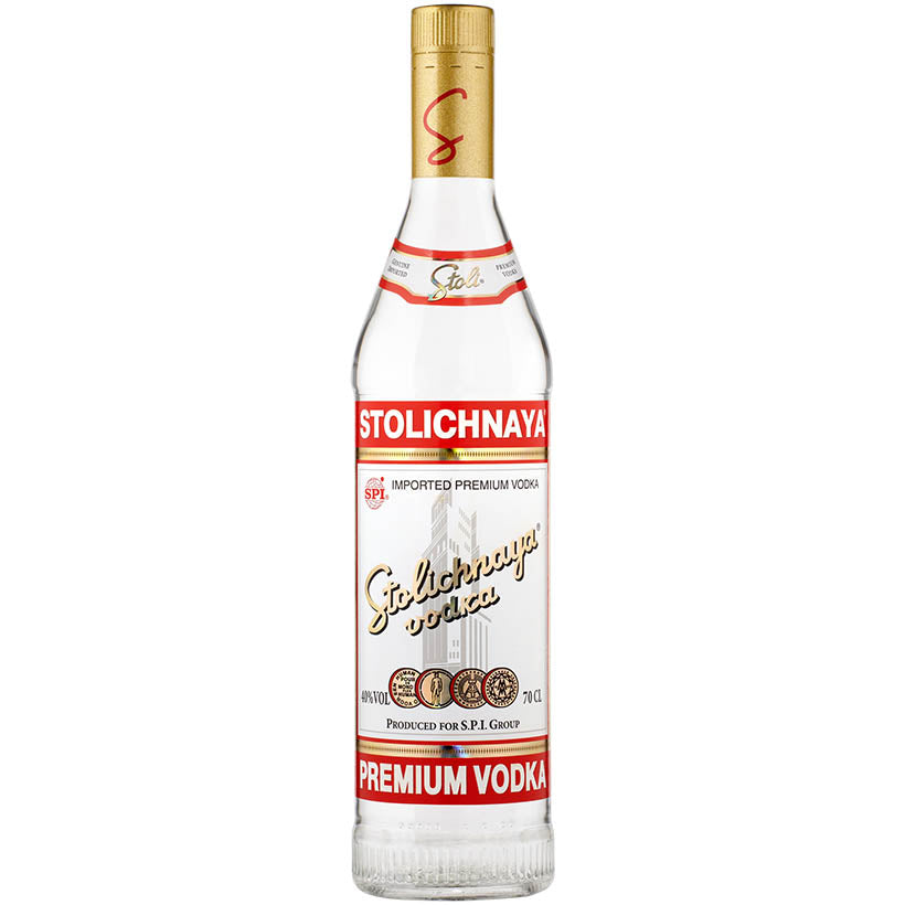 Stolichnaya Red Russian Vodka