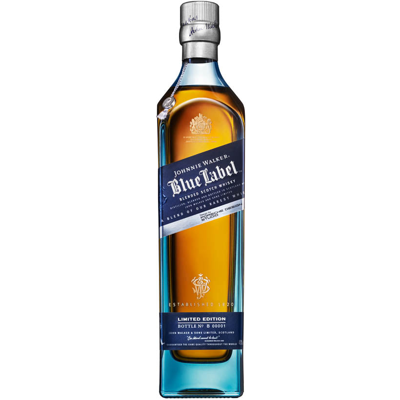 Johnnie Walker 'Blue Label' - Premium Blended Scotch Whisky