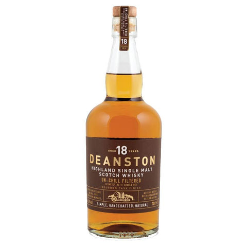 Deanston 18 Year Old Bourbon Finish Whisky