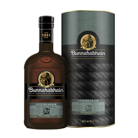 Bunnahabhain Stiureadair Islay Single Malt Whisky with box