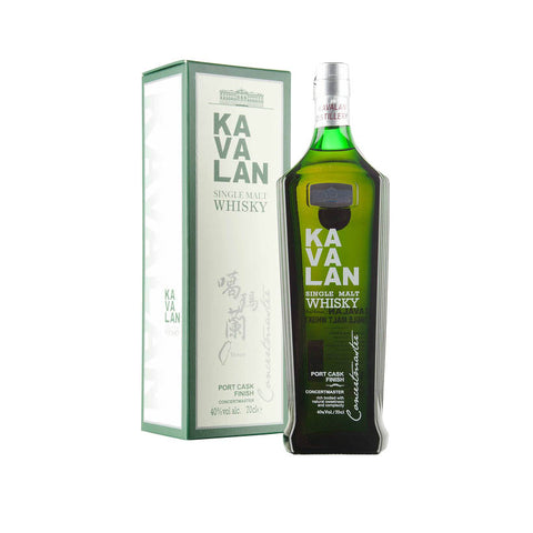 Kavalan Concertmaster Single Malt Whisky with box