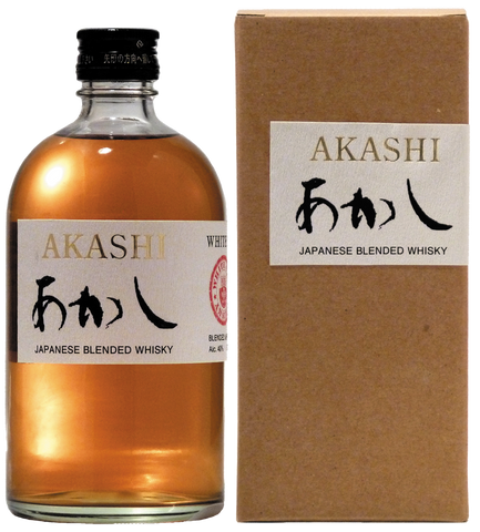 Akashi Japanese Whisky and Box