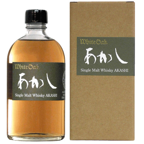Akashi Single Malt Japanese Whisky 500ml