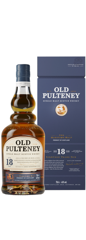 Old Pulteney 18 YO Single Malt Whisky