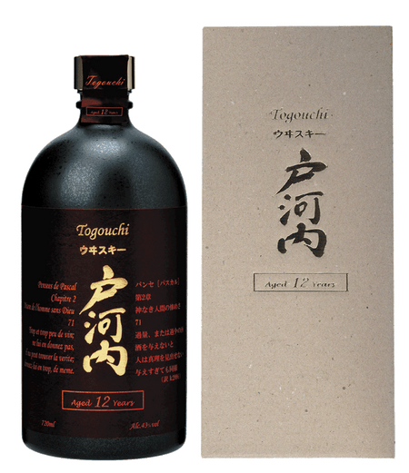 Togouchi 12 Year Old Japanese Blended Whisky With Gift Box