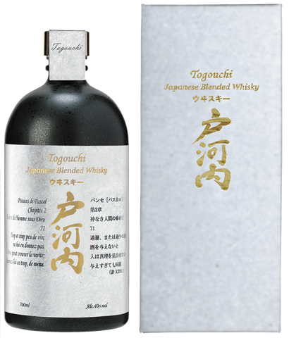 Togouchi Premium Japanese Whisky with presentation box