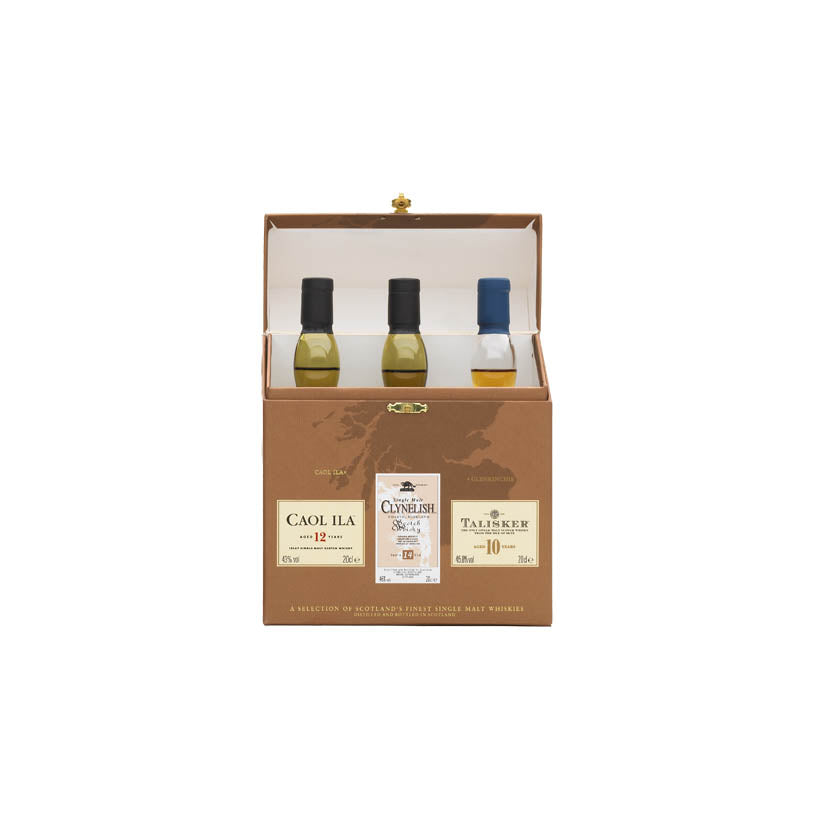 Classic Coastal Malts 200ml - Islay, Highland & Island – Triple Pack