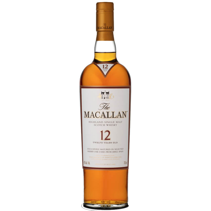 Macallan 12 Year Old Sherry Oak - Single Malt Whisky