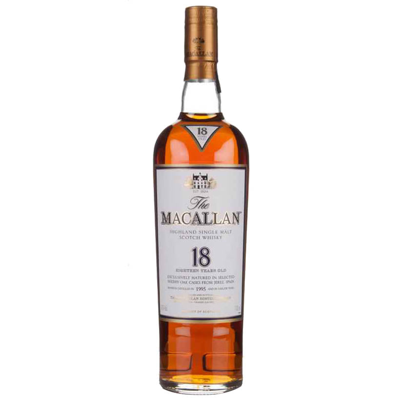 Macallan 18 Year Old Sherry Oak Whisky