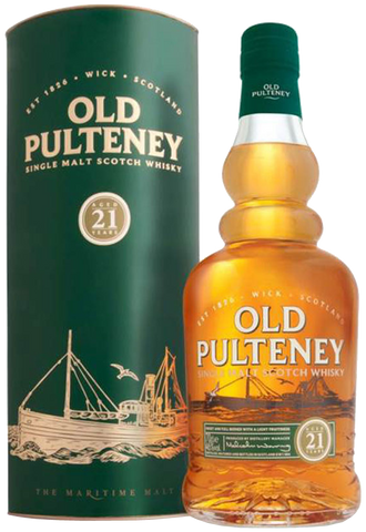 Old Pulteney 21 Year Old with Box