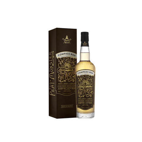 Compass Box 'The Peat Monster' - Premium Blended Scotch Whisky with box