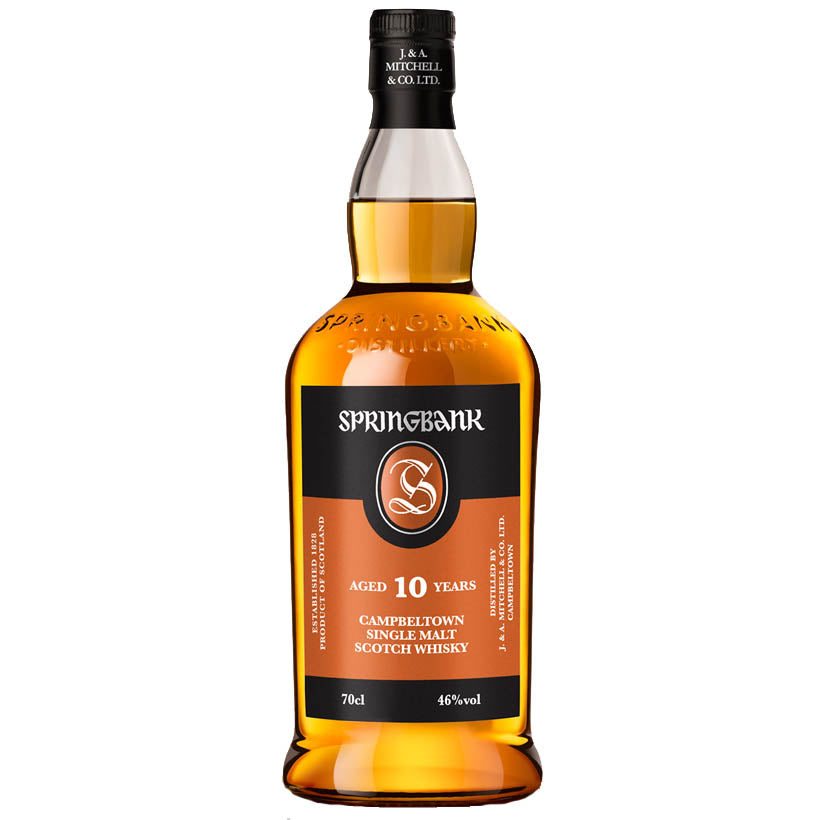 Springbank 10 Year Old - Campbeltown Single Malt Whisky