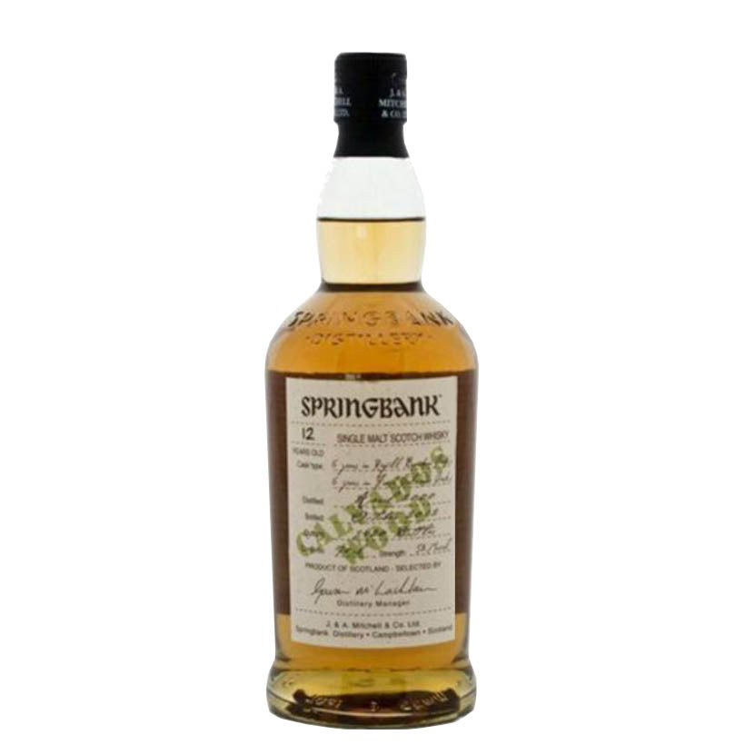 Springbank 'Calvados Wood' 12 Year Old - Cambeltown