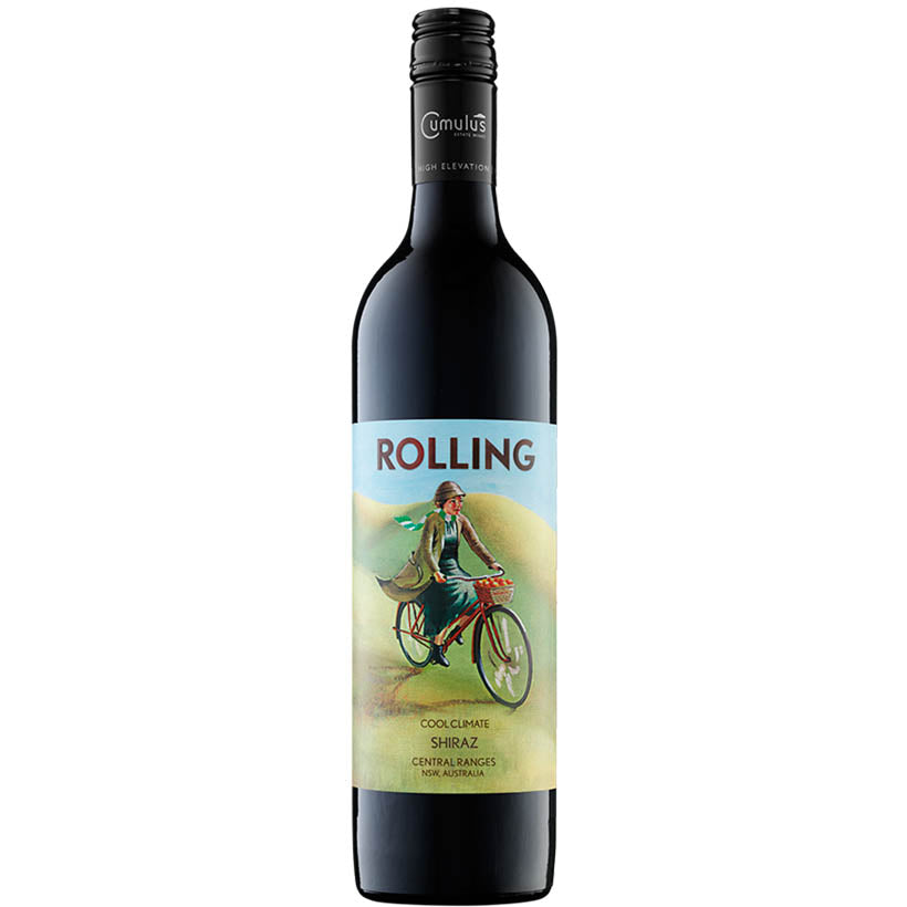 Rolling Shiraz 2015 red wine