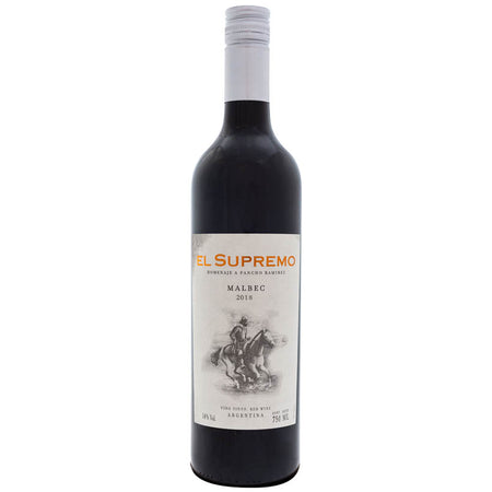 El Supremo Malbec 2018 Argentinian Red wine