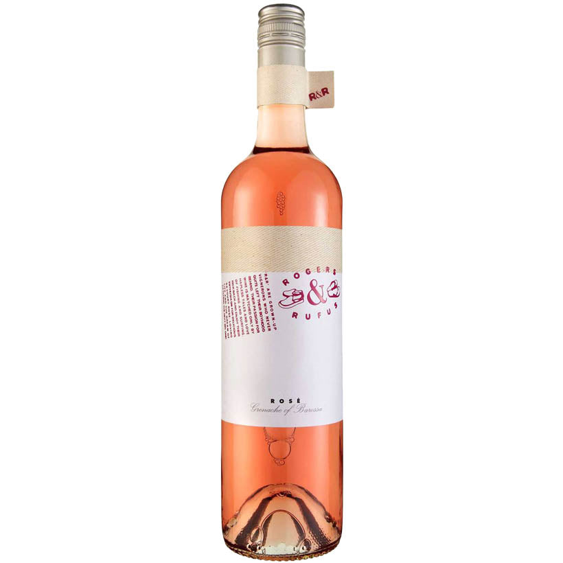 Rogers & Rufus Rosé 2016 Vegan and Vegetarian Wine