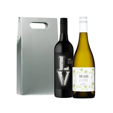We've Got the LV - Wine Gift Set White and red wine with gift box