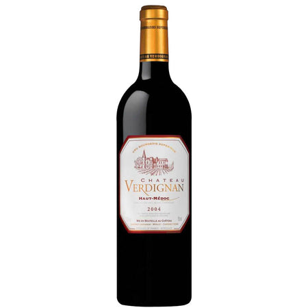 Red Wine Chateau Verdignan Haut Medoc Bordeaux