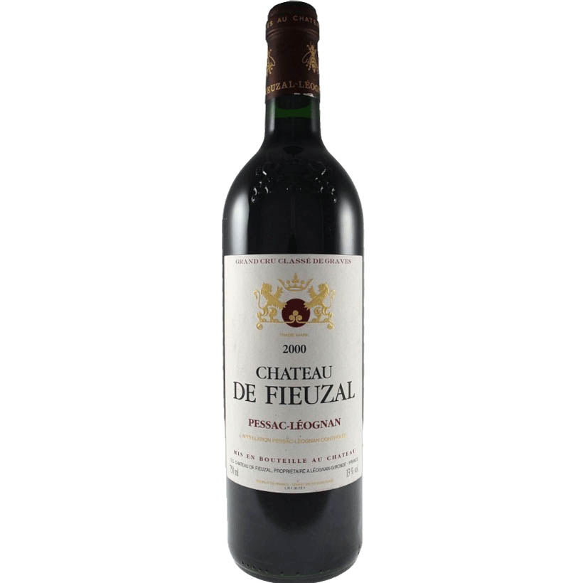 Chateau Fieuzal Graves 2000 Fine Red Wine
