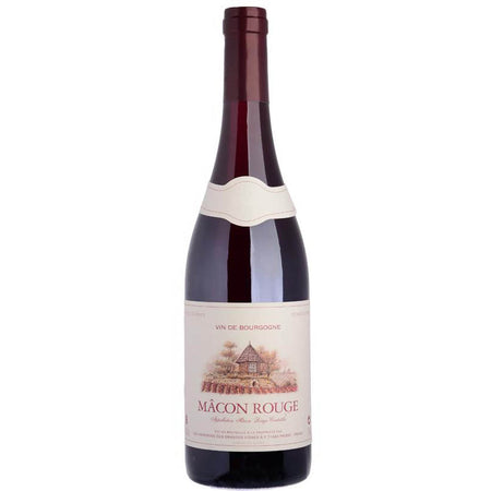 Mâcon Rouge Terres Secrètes 2016 French Vegan Red Wine