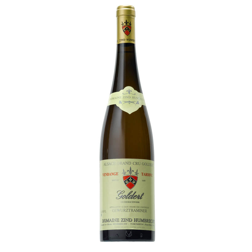 White Wine Zind Humbrecht Gewurztraminer Goldert Grand Cru