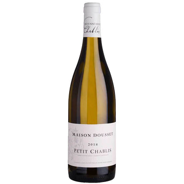 Maison Dousset Petit Chablis 2018 french Vegan White wine