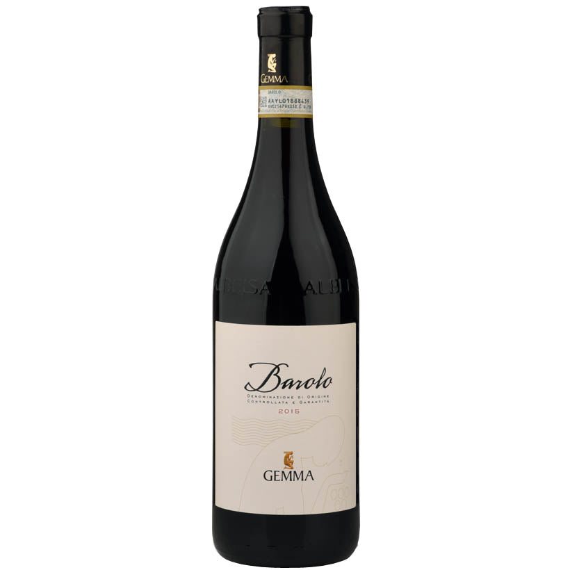 Gemma Barolo 2015 Vegan Italian Red wine