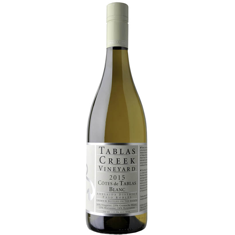 Tablas Creek Blanc 2015 Fine White Wine