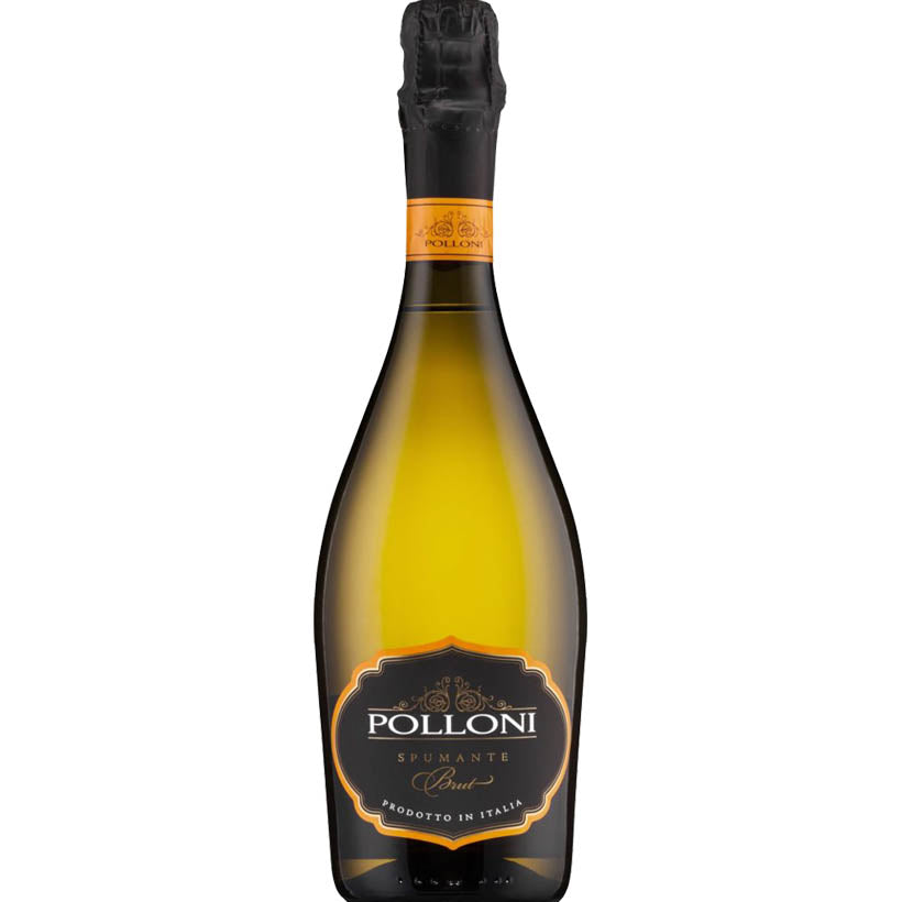 Sparkling Wine Polloni Spumante Brut NV Italy