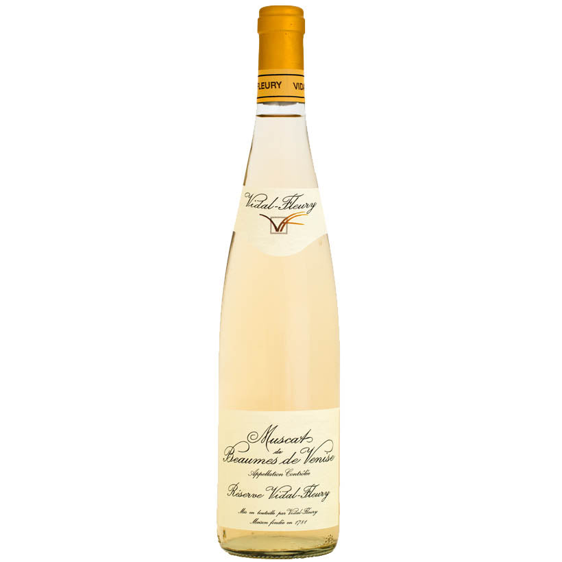 Muscat de Beaumes-de-Venise Vidal-Fleury 2015 - Half Bottle - 375ml
