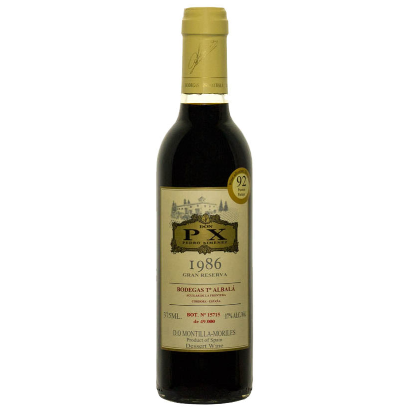 Bodegas Toro Albala Don PX Gran Reserva 1986 - Half Bottle 375ml