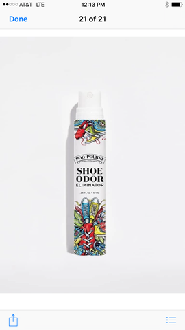 Poo-Pourri Shoe Spray