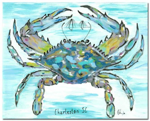 """Charleston Blue Crab"""