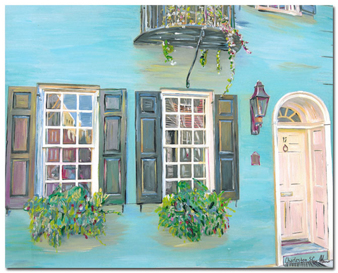 """Charleston Windows"" I (House on Tradd street)"