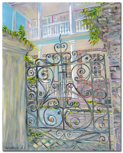 """Charleston Gates"" III  Vertical"