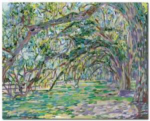 """Boone Hall Plantation. Avenue of Oaks"""