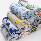 Soft Baby Blanket New Brand Infantil Swaddle Envelope Stroller Wrap For Newborn Baby bed Blanket Muslin Diapers Baby Bath Towel