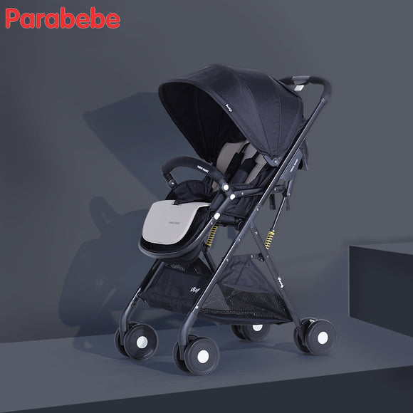 Light Stroller For Kids Black Folding Baby Stroller Fashion Purple China Pushchair For Girl Pocket Stroller Beautiful The Pram