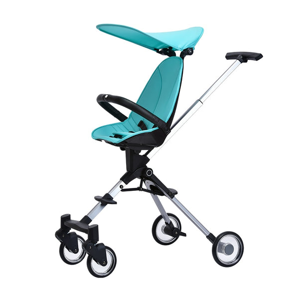 High Landscape Baby Stroller Children Trolley Foldable Baby Carriage Lightweight Two-way Kinderwagen Triciclo Infantil Pushchair