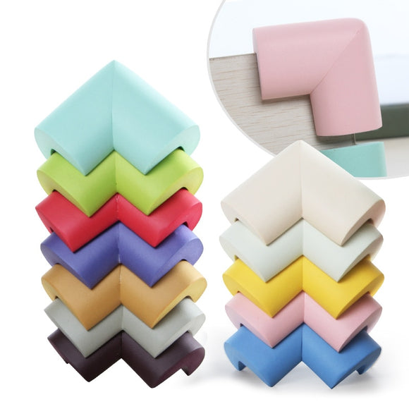 8pcs/lot 55*55mm Soft Table Corner Protector Baby Safety Protection For Children Kids Safety Corner Bumper Office Products