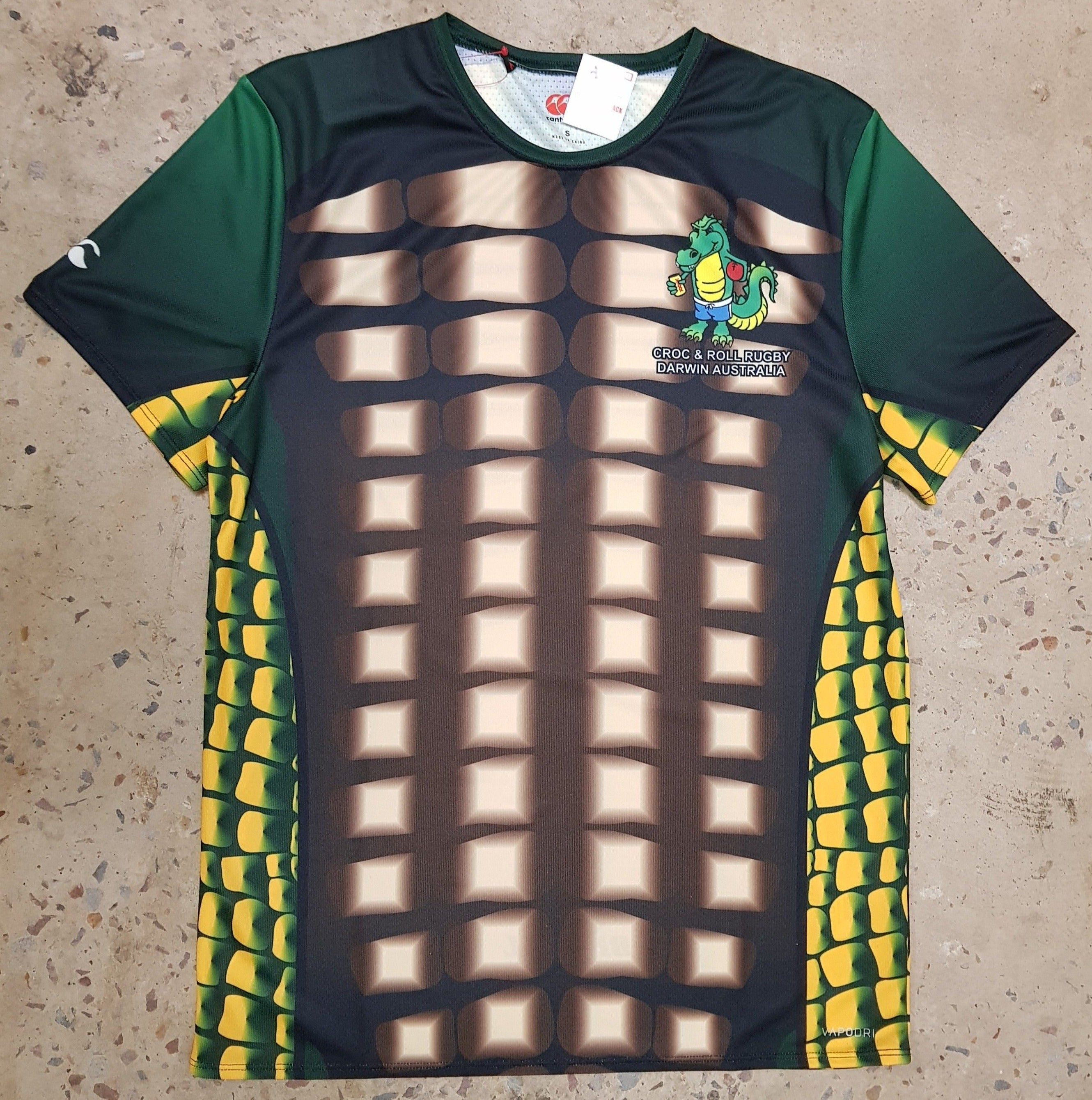 Croc & Roll Rugby Tee