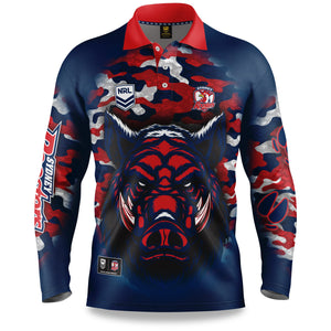 Outback Shirt NRL Roosters 20
