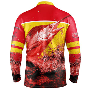 Fishing Shirt AFL Gold Coast Suns 20