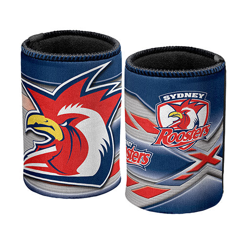 Roosters Logo Can Cooler