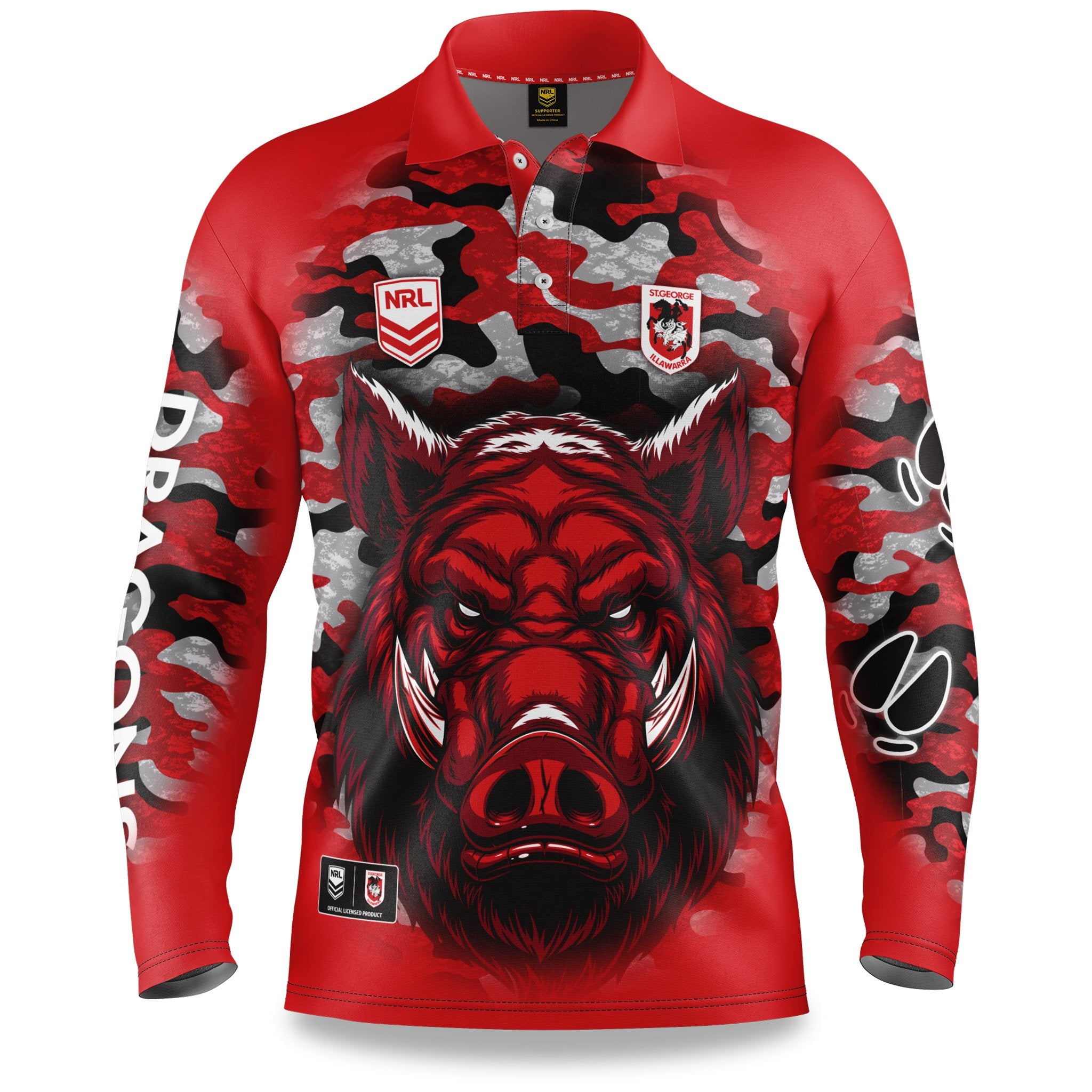 Outback Shirt NRL Dragons 20