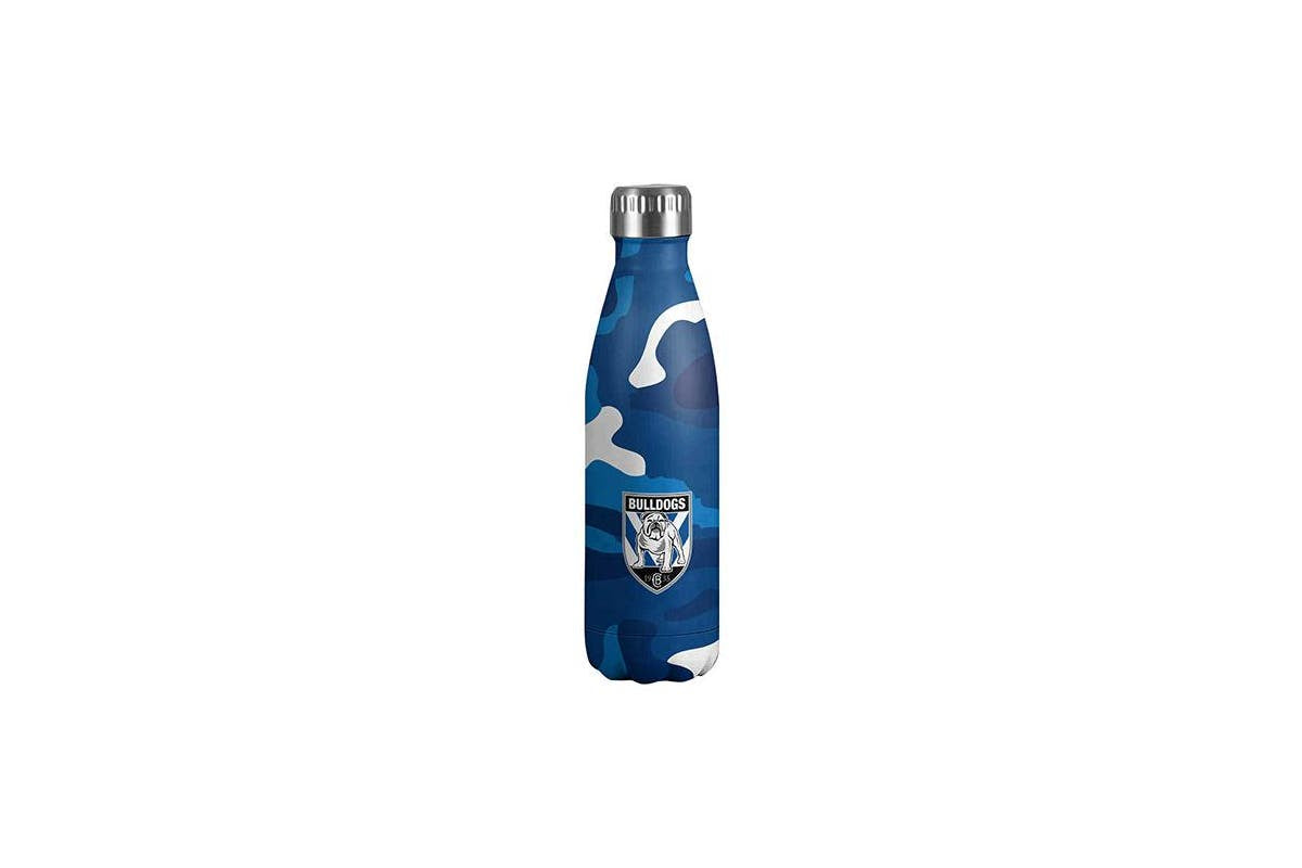 Bulldogs Double Wall Insulated Drink Bottle