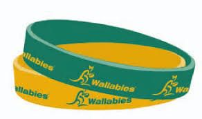 Wallabies Wristband 12mm Twin Pack