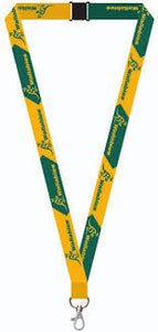 Wallabies Lanyard 20mm