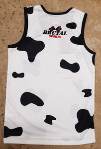 Mad Cows Kids Singlet