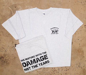 Rugby Tee-We mature with damage